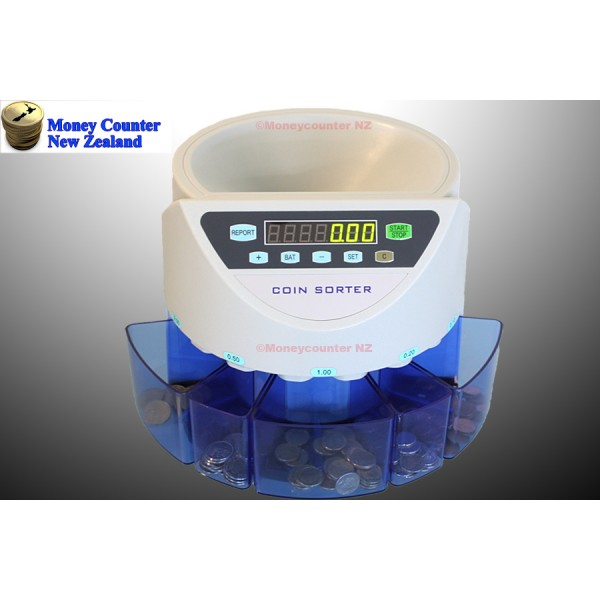 Coin counter and sorter L300